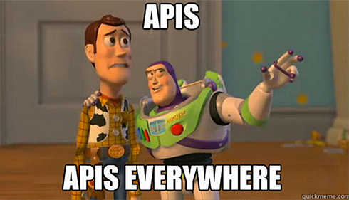 APIs, APIs everywhere