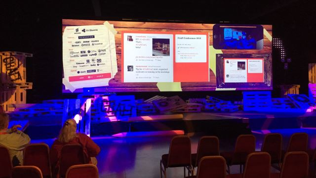 CraftConf 2015 Stage