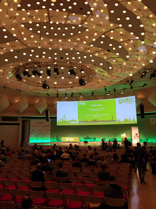 GOTO Berlin 2017 Convention Hall